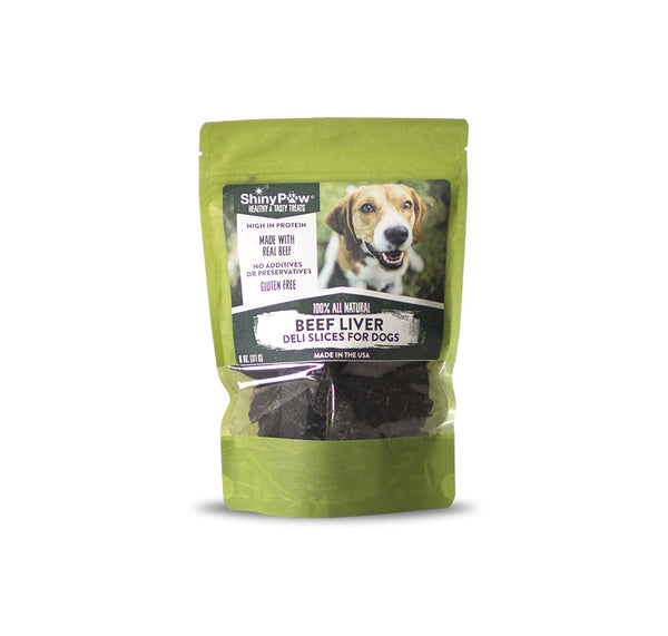 Beef Liver Deli Slices For Dogs