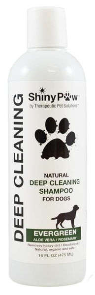 Deep Cleaning Evergreen, Aloe Vera & Rosemary Shampoo for Dogs