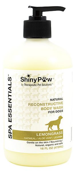 Oatmeal and Lemongrass Spa Essentials Reconstructive Body Wash for Dogs