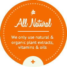 All natural products. Always.