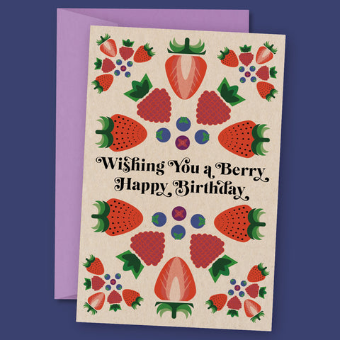 Berry Happy Birthday – Birthday Card
