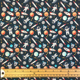 Space Cotton Fabric - John Louden-Adam Ross Fabrics
