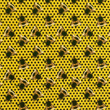 Bees Cotton Jersey Fabric-Adam Ross Fabrics