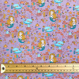Mermaid Cotton Jersey Fabric-Adam Ross Fabrics