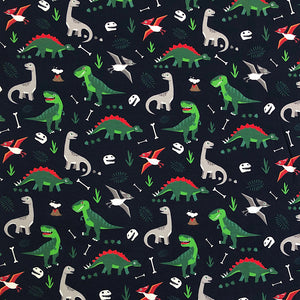 Prehistoric Cotton Jersey Fabric-Adam Ross Fabrics