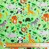 Animals Cotton Jersey Fabric-Adam Ross Fabrics