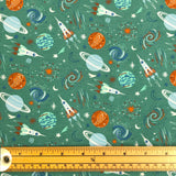 Space Cotton Jersey Fabric-Adam Ross Fabrics