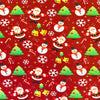 Christmas Cotton Jersey Fabric