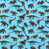 Dinosaurs Organic Cotton Jersey Fabric