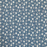 Floral Chambray Denim Fabric-Adam Ross Fabrics