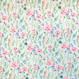 Floral Cotton Fabric - John Louden-Adam Ross Fabrics