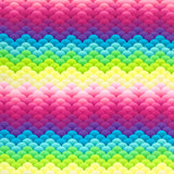 Rainbow Scales Cotton Jersey Fabric-Adam Ross Fabrics