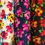 Floral Cotton Fabric-Adam Ross Fabrics
