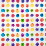 Painted Dots Cotton Jersey Fabric-Adam Ross Fabrics