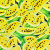 Yellow Watermelon Cotton Canvas Fabric