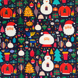 Christmas Organic Cotton Jersey Fabric