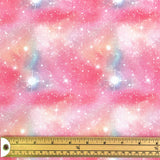 Pink Constellation Cotton Fabric - Little Johnny-Adam Ross Fabrics