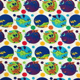 Dragons & Spots Cotton Jersey Fabric-Adam Ross Fabrics