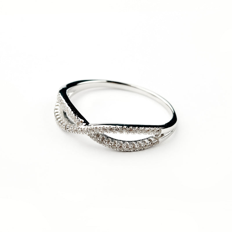 Silver Ring Infinity