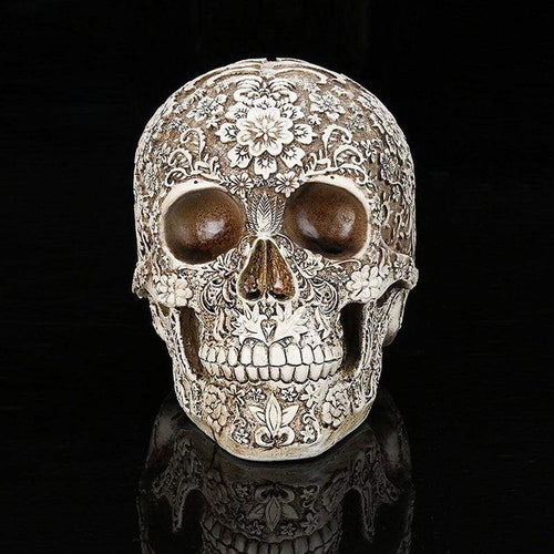 Carved Skull Replica - All Hallow Evening