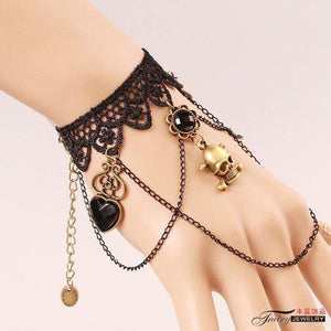 """Pirate's Lady"" Bracelet - All Hallow Evening"