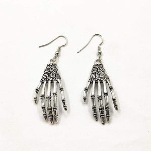 """Hands of Lost Souls"" Earrings - All Hallow Evening"