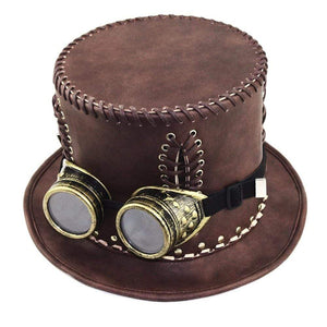 SteamPunk Wide-Brimmed Hat - All Hallow Evening