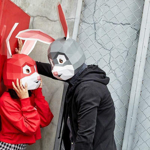 """Rabbit Lovers"" Origami Mask - All Hallow Evening"