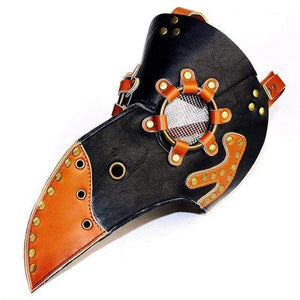 """Toco Toucan"" Plague Doctor Mask - All Hallow Evening"