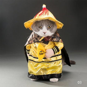 """Emperor"" Pet Costume - All Hallow Evening"