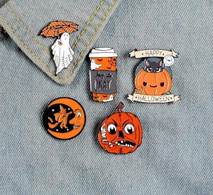 """Fall Vibe"" Pin Collection - All Hallow Evening"