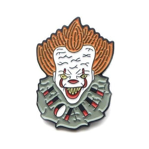 """Spooky"" Pennywise Pin - All Hallow Evening"