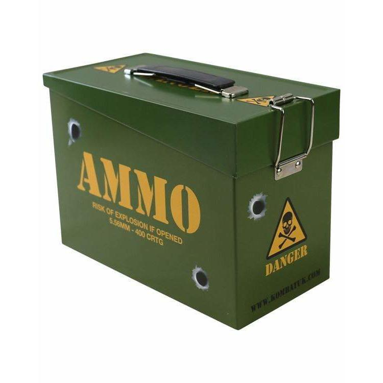 Army Style Ammo Tin - AirGuns-Liverpool