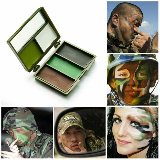 Mil-Com 5 Colour Face Paint W/Mirror - AirGuns-Liverpool