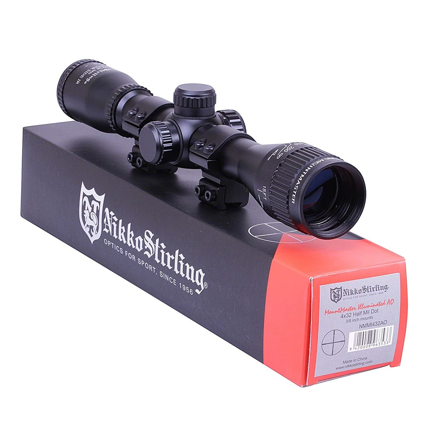 NIKKO MOUNTMASTER SCOPE 4X32 - AirGuns-Liverpool