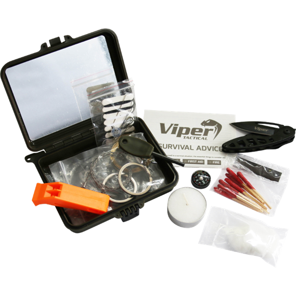 Jack Pyke Survival Kit Black - AirGuns-Liverpool