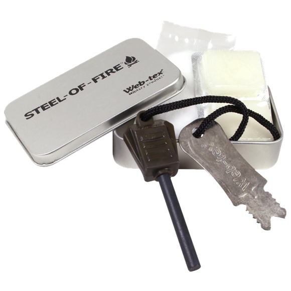 Web-tex Steel of Fire Starter Kit - AirGuns-Liverpool