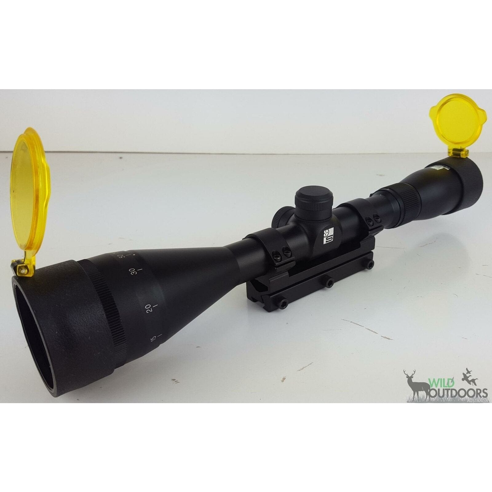 Sabre 4-12 x 42 AO Scope - AirGuns-Liverpool