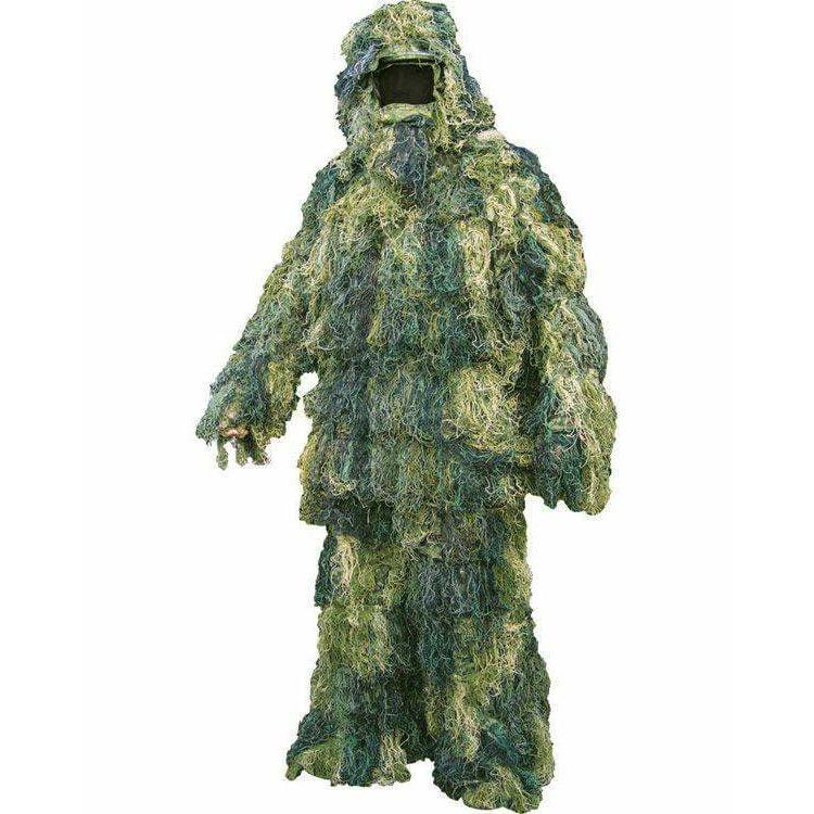 Adult Ghillie Suit - Woodland Size XL/XXL - AirGuns-Liverpool