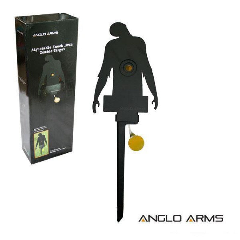 ANGLO ARMS ADJUSTABLE KNOCK DOWN ZOMBIE TARGETS