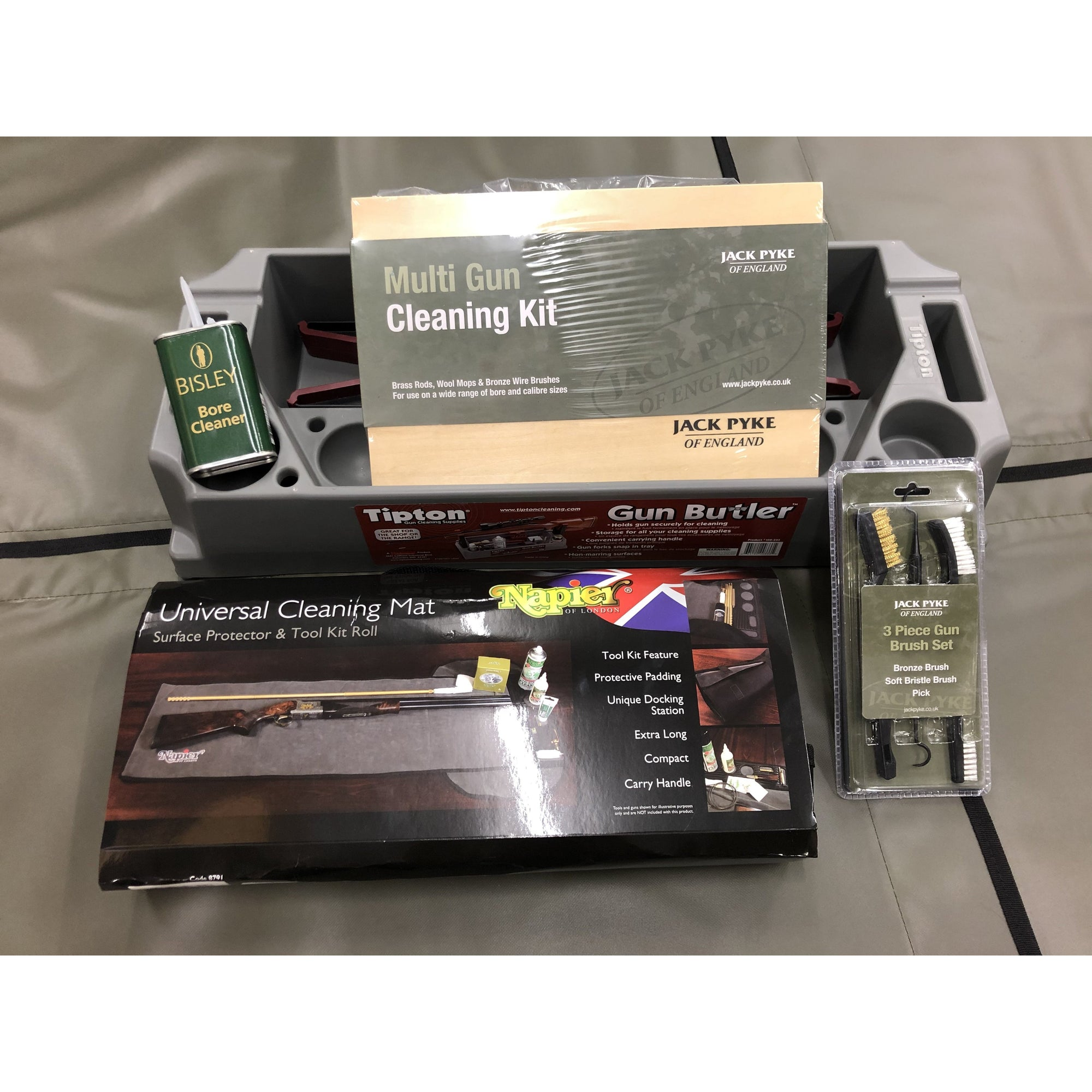 Gun Cleaning Kit Package - AirGuns-Liverpool