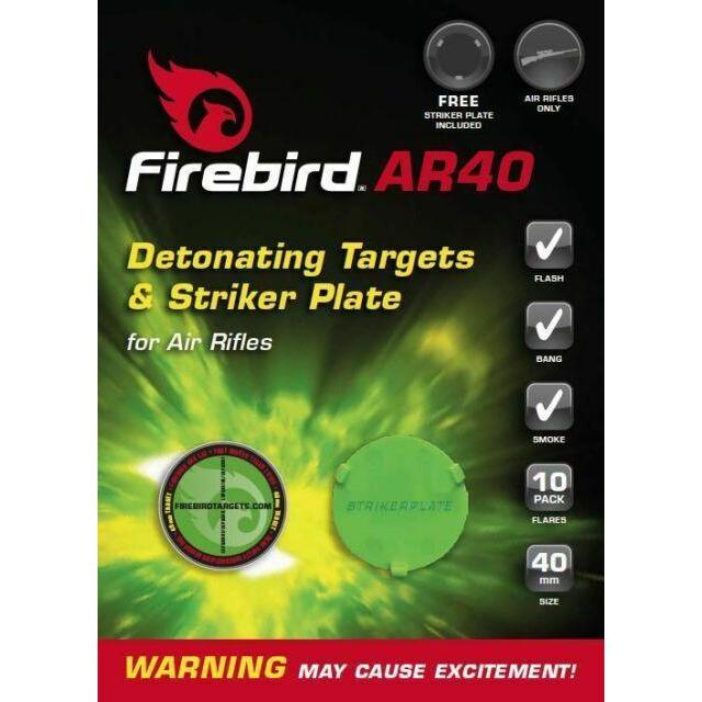 Air Flash Firebird AR10 Target Pack of 10 - AirGuns-Liverpool