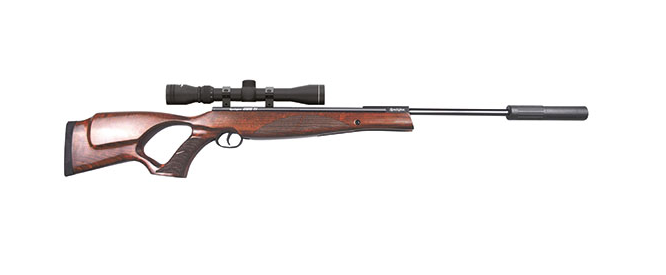 REMINGTON SABRE THUMBHOLE .22 AIR RIFLE & SCOPE