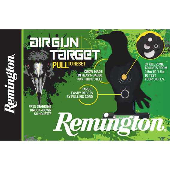 Remington Airgun Pull Reset Target - AirGuns-Liverpool