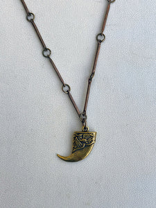 Small Lion Claw Necklace by Alkemie