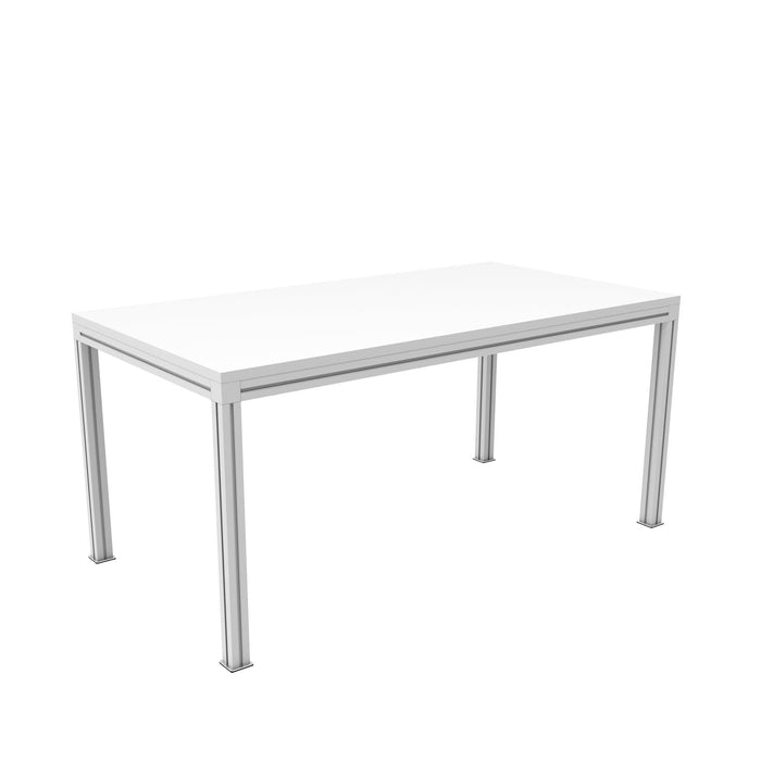 Table 64''x 34'' x30'' (IL-TABAC643430) RHO Blanc