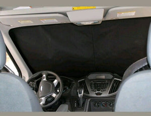Ram Promaster Magnetic Insulated Window Cover - Windshield - High Roof - Down by the River Curtains