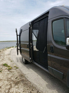 Ram Promaster Sliding Door Magnetic Mosquito Screen - Standard / High Roof - Down by the River Curtains