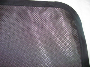 Ford Transit Magnetic Insulated Window Cover - Passenger Side Rear Quarter Panel - Low Roof - Down by the River Curtains