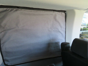Ram Promaster Magnetic Insulated Window Cover - Crew Cab - Standard Roof - Down by the River Curtains